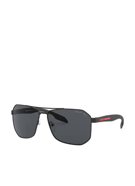 PRADA Sonnenbrille PS 51VS, Farbe: DG05Z1 - SCHWARZ/ GRAU (Bild 1)