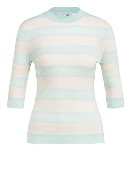BOSS Kurzarm-Pullover FALEENA, Farbe: MINT/ ECRU (Bild 1)