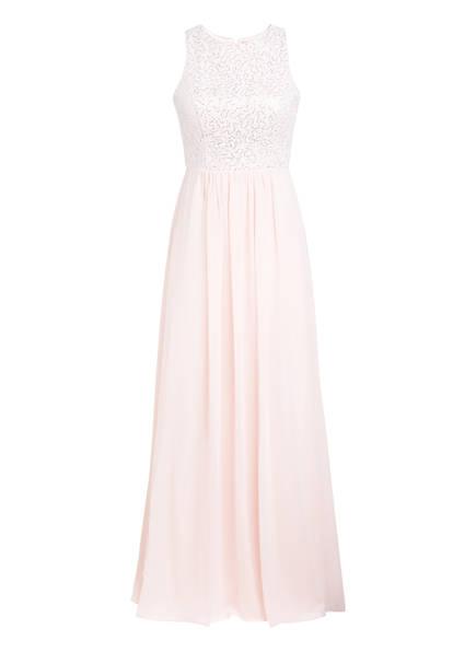 VM VERA MONT Abendkleid mit Paillettenbesatz, Farbe: HELLROSA (Bild 1)