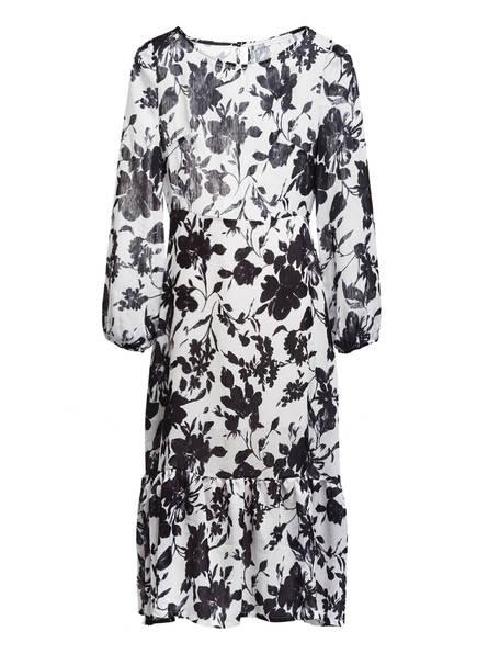 Freebird Kleid mit Rüschenbesatz, Farbe: WEISS/ SCHWARZ (Bild 1)
