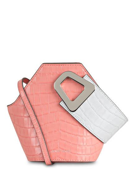 DANSE LENTE Handtasche JOHNNY XS, Farbe: LACHS/ GRAU (Bild 1)