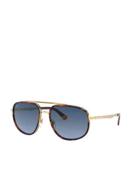 Persol Sonnenbrille PO2465S, Farbe: 1089Q8 - GOLD/ BLAU (Bild 1)