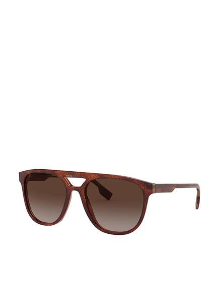 BURBERRY Sonnenbrille BE4302, Farbe: 382313 - COGNAC/ BRAUN VERLAUF (Bild 1)