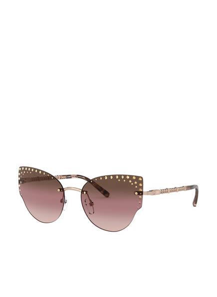 MICHAEL KORS Sonnenbrille MK-1058B mit Schmucksteinbesatz, Farbe: 1108O0 - ROSÉ/ ROSÉ VERLAUF (Bild 1)