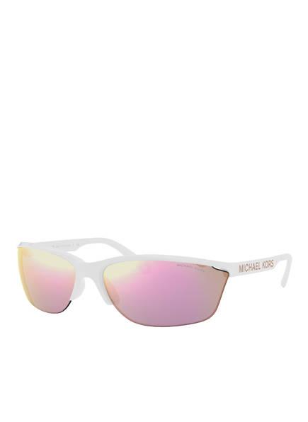 MICHAEL KORS Sonnenbrille MK-2110 , Farbe: 30994Z  - WEISS/ PINK VERSPIEGELT (Bild 1)