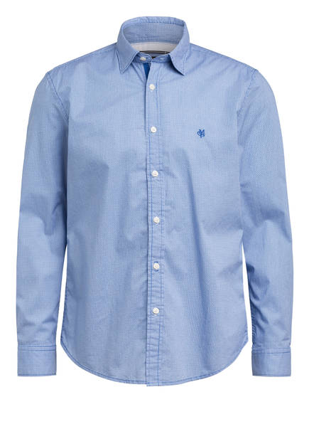 Marc O'Polo Hemd Regular Fit, Farbe: BLAU/ WEISS (Bild 1)