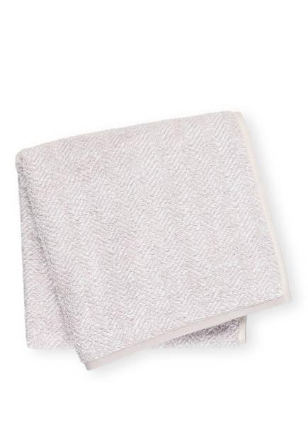 Cawö Handtuch CONTOUR, Farbe: HELLGRAU (Bild 1)