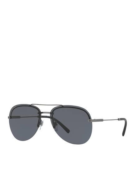 BVLGARI Sunglasses Sonnenbrille BV5044, Farbe: 195/81 - MATT GRAU/ GRAU POLARISIERT (Bild 1)