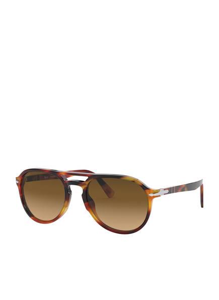 Persol Sonnenbrille PO3235S, Farbe: 1082M2 - HAVANA/ BRAUN POLARISIERT (Bild 1)