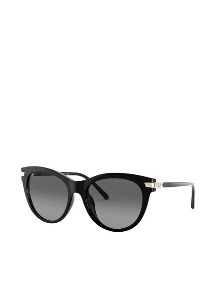 MICHAEL KORS Sonnenbrille MK2112U, Farbe: 3332T3 - SCHWARZ/ GRAU POLARISIERT (Bild 1)