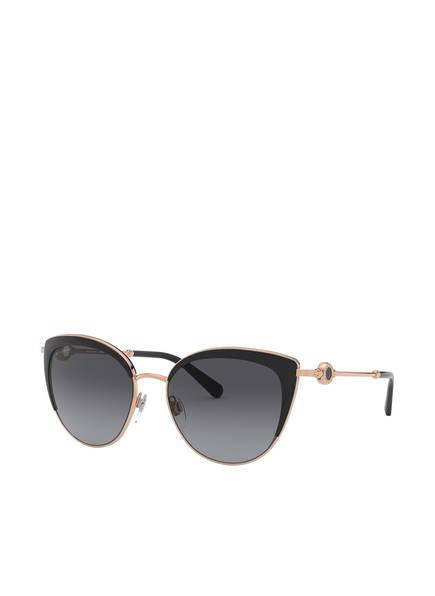 BVLGARI Sunglasses Sonnenbrille BV6133, Farbe: 2014T3 - GOLD/ DUNKELGRAU VERLAUF (Bild 1)