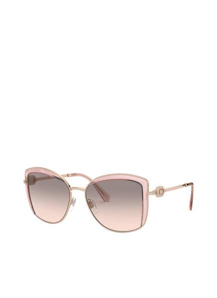 BVLGARI Sunglasses Sonnenbrille BV6128B mit Schmucksteinbesatz, Farbe: 20143B - GOLD/ GRAU VERLAUF (Bild 1)