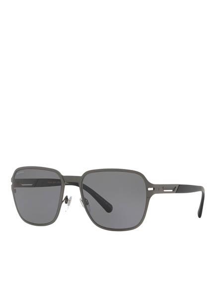 BVLGARI Sunglasses Sonnenbrille BV5046TK, Farbe: 204081 - MATT GRAU/ GRAU POLARISIERT (Bild 1)
