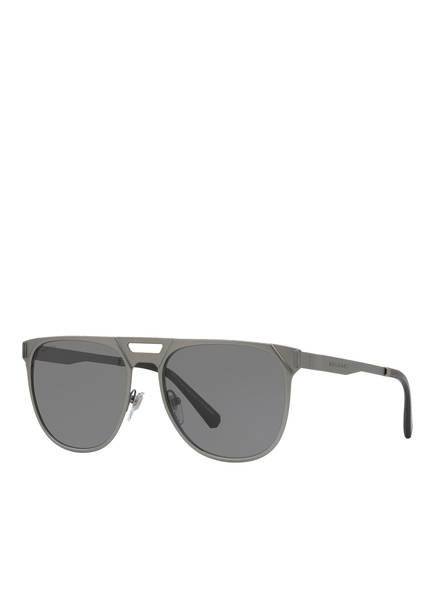 BVLGARI Sunglasses Sonnenbrille BV5048K, Farbe: 204081 - MATT GRAU/ GRAU POLARISIERT (Bild 1)