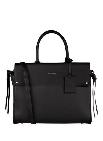KARL Handtasche IKON, Farbe: SCHWARZ (Bild 1)