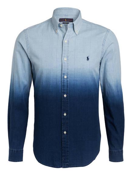 POLO RALPH LAUREN Hemd Slim Fit, Farbe: HELLBLAU/ BLAU  (Bild 1)
