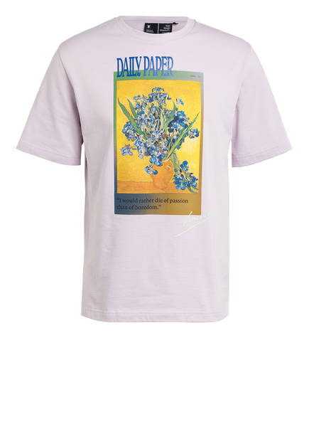 DAILY PAPER T-Shirt VAN HORMI, Farbe: PASTELL LILA (Bild 1)