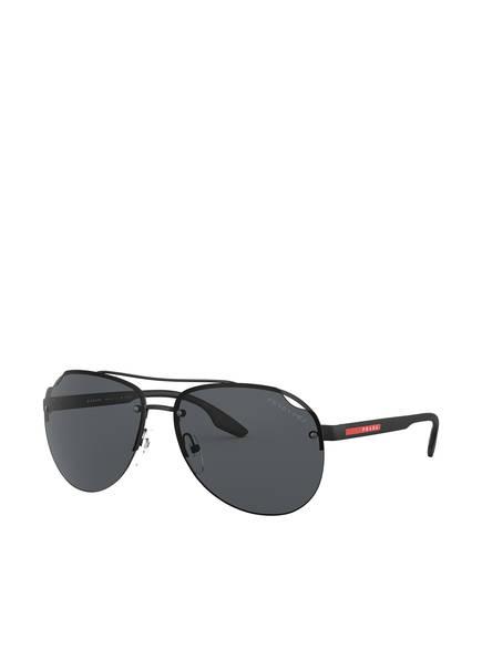 PRADA Sonnenbrille PS 52VS, Farbe: 1BO5Z1 - MATT SCHWARZ/ GRAU (Bild 1)
