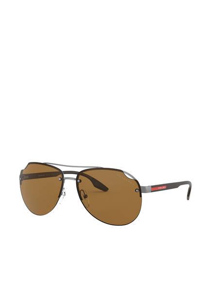 PRADA Sonnenbrille PS 52VS, Farbe: 7CQ5Y1 - MATT GRAU/ BRAUN (Bild 1)