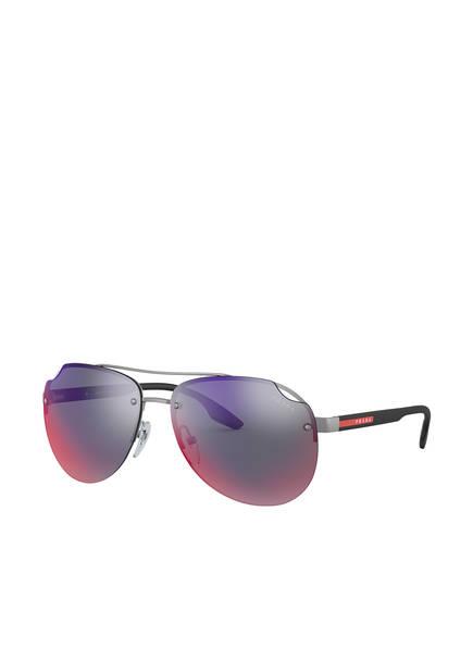 PRADA Sonnenbrille PS 52VS, Farbe: 7CQ9Q1 - MATT GRAU/ PINK/ LILA (Bild 1)