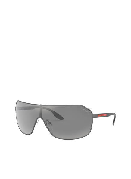 PRADA Sonnenbrille PS 53VS, Farbe: TWW2B0 - MATT GRAU/ GRAU VERSPIEGELT (Bild 1)