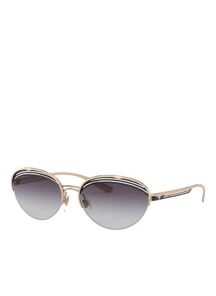 BVLGARI Sunglasses Sonnenbrille BV6131, Farbe: 20338G - GOLD/ DUNKELGRAU VERLAUF (Bild 1)