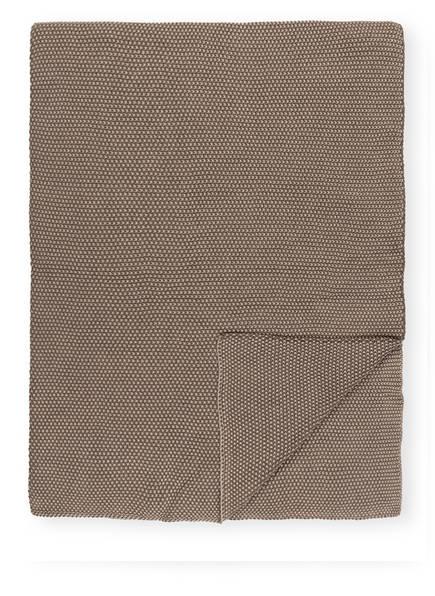 pichler Plaid SENSO, Farbe: TAUPE (Bild 1)
