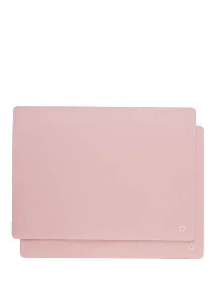 pichler 2er-Tischset JAZZ, Farbe: ROSA (Bild 1)
