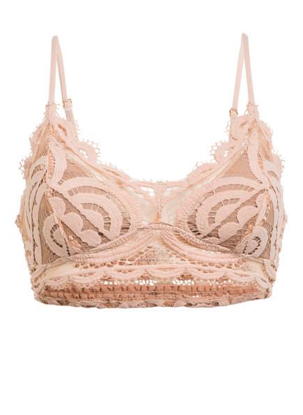 PILYQ Bralette-Bikini-Top PINK SANDS SWEETHEART , Farbe: NUDE (Bild 1)