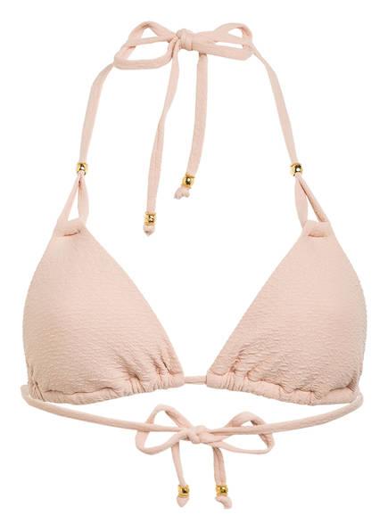 PILYQ Triangel-Bikini-Top PINK SANDS, Farbe: NUDE (Bild 1)