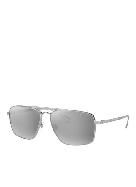 VERSACE Sonnebrille VE2216, Farbe: 10006G - SILBER/ GRAU VERSPIEGELT (Bild 1)