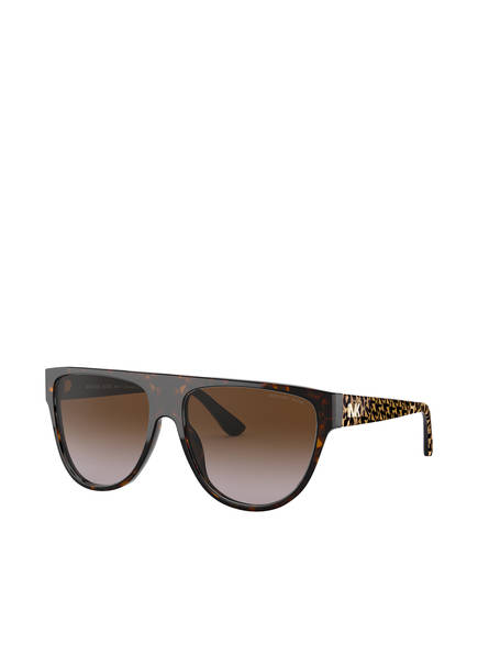 MICHAEL KORS Sonnenbrille BARROW MK2111 , Farbe: 300613 - HAVANA/ BRAUN VERLAUF (Bild 1)