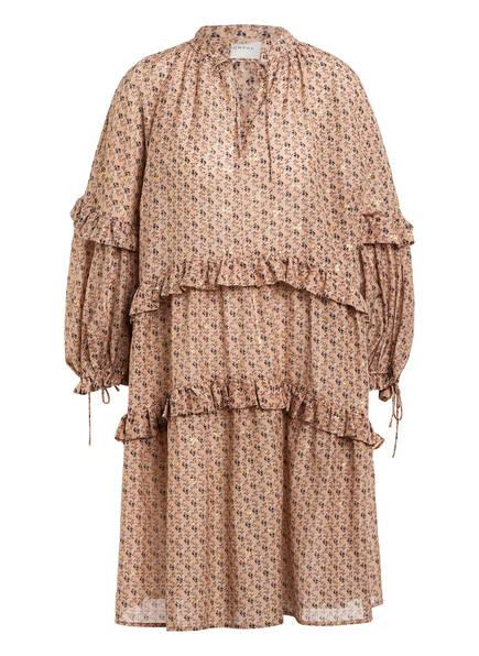 MUNTHE Kleid MAGGIE, Farbe: ALTROSA / SCHWARZ/ GOLD (Bild 1)