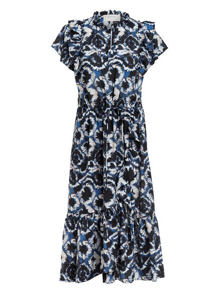 MUNTHE Kleid MAKE, Farbe: BLAU/ WEISS (Bild 1)