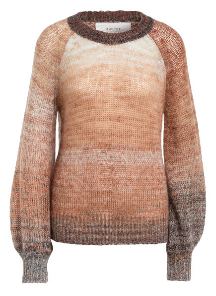 MUNTHE Pullover MILIUM mit Mohair, Farbe: BRAUN/ DUNKELGRAU (Bild 1)