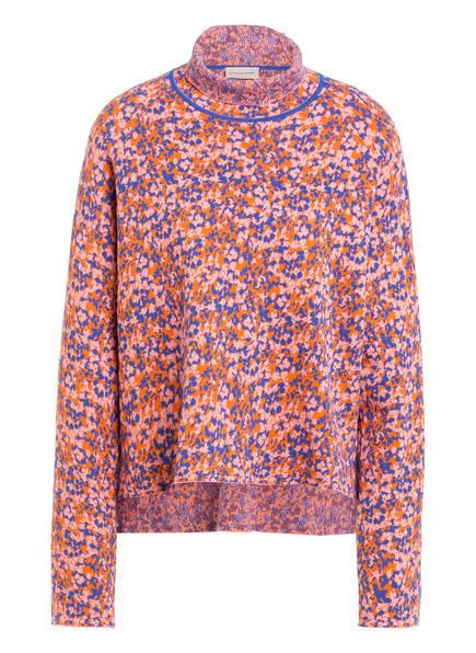 BY MALENE BIRGER Pullover IVAH, Farbe: ORANGE/ BLAU (Bild 1)