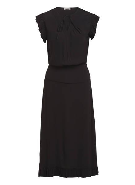 BY MALENE BIRGER Kleid SPAINE mit Volantbesatz, Farbe: SCHWARZ (Bild 1)