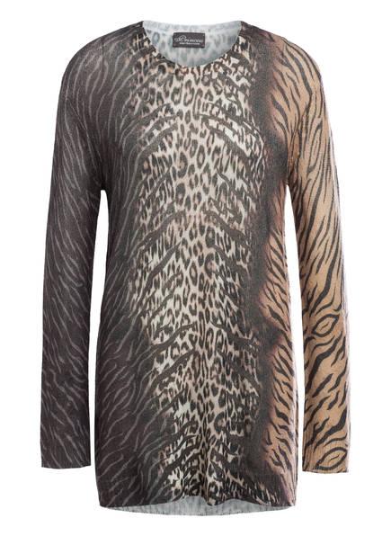 Princess GOES HOLLYWOOD Cashmere-Pullover, Farbe: BRAUN/ SCHWARZ (Bild 1)