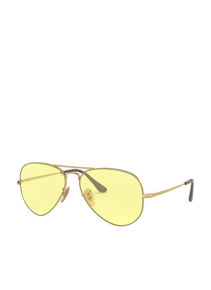 Ray-Ban Sonnenbrille RB3689, Farbe: 001/T4 - GOLD/ GELB (Bild 1)