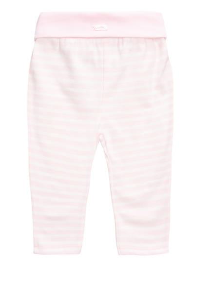 Sanetta FIFTYSEVEN Sweatpants, Farbe: HELLROSA/ WEISS GESTREIFT (Bild 1)
