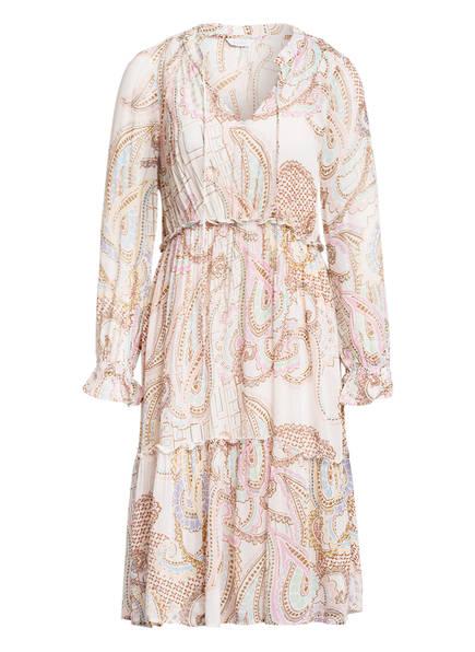FrogBox Kleid, Farbe: WEISS/ CAMEL/ TÜRKIS (Bild 1)