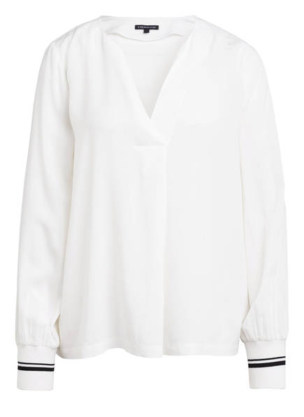 ONE MORE STORY Oversized-Blusenshirt, Farbe: WEISS (Bild 1)