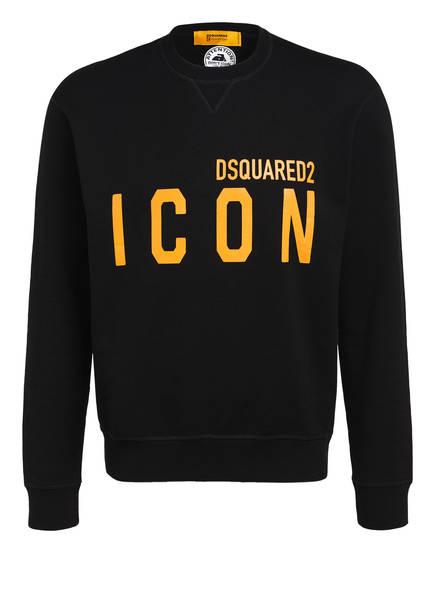 DSQUARED2 Sweatshirt ICON, Farbe: SCHWARZ (Bild 1)