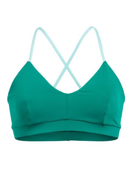 MYMARINI Bustier-Bikini-Top SEA-POOL zum Wenden , Farbe: HELLBLAU/ DUNKELGRÜN (Bild 1)
