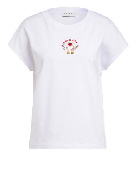 sandro T-Shirt, Farbe: WEISS (Bild 1)