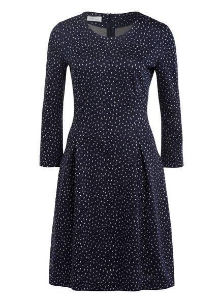 RENÉ LEZARD Jerseykleid, Farbe: DUNKELBLAU/ WEISS (Bild 1)