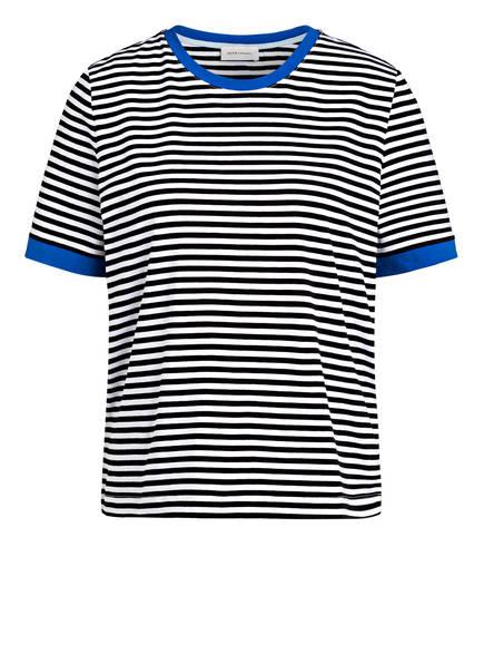RENÉ LEZARD T-Shirt, Farbe: SCHWARZ/ WEISS  GESTREIFT (Bild 1)