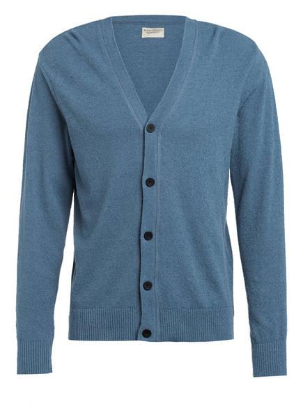 Nudie Jeans Strickjacke PIM, Farbe: BLAU (Bild 1)