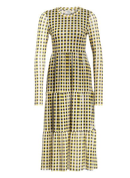 BAUM UND PFERDGARTEN Kleid JOCELINA, Farbe: GELB/ SCHWARZ (Bild 1)
