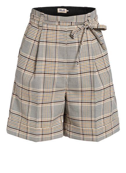 BAUM UND PFERDGARTEN Shorts NOUGA, Farbe: BEIGE/ COGNAC/ DUNKELBRAUN (Bild 1)